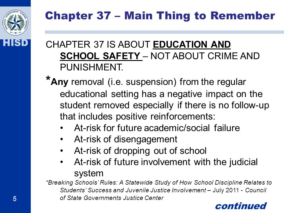 Chapter 37 – Main Thing to Remember