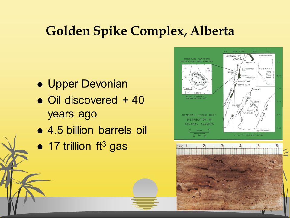 Golden Spike Complex, Alberta