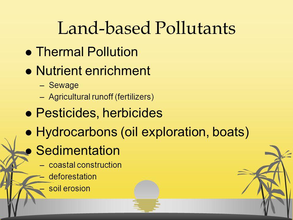 Land-based Pollutants