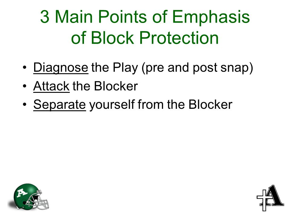 3 Main Points of Emphasis of Block Protection