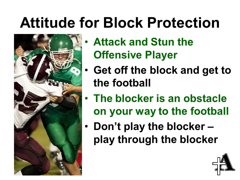 Attitude for Block Protection