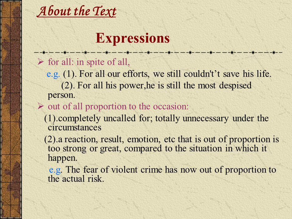 About the Text Expressions
