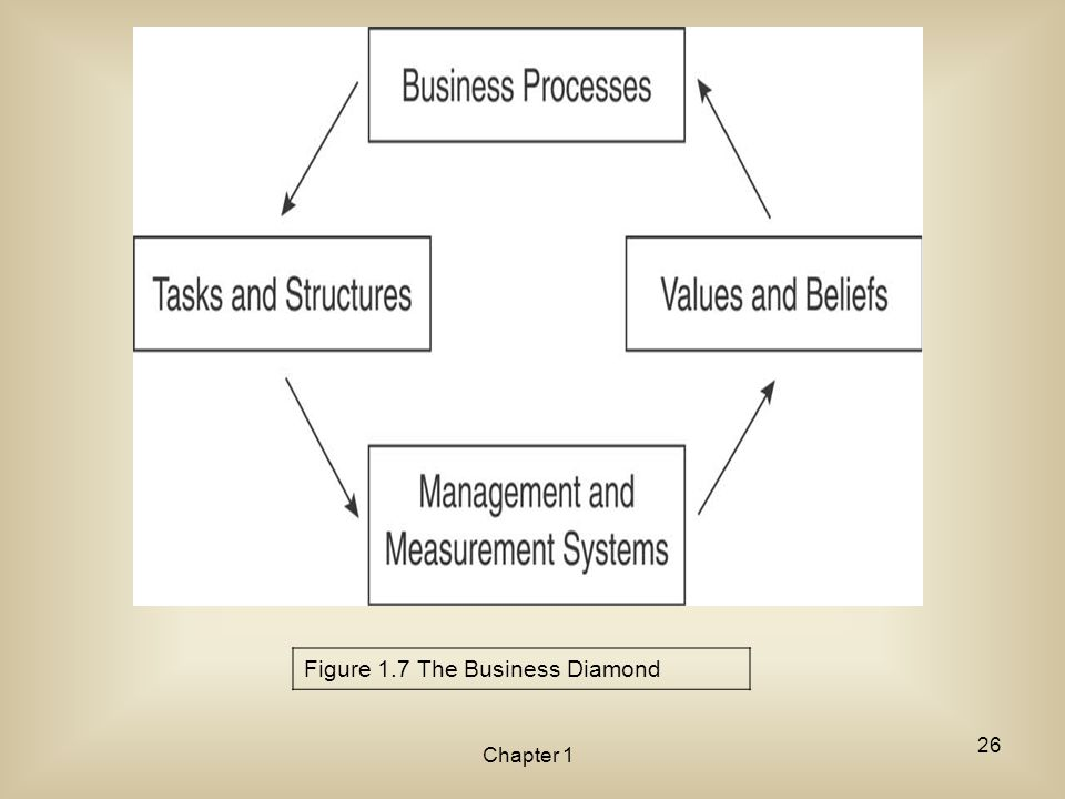 Figure 1.7 The Business Diamond