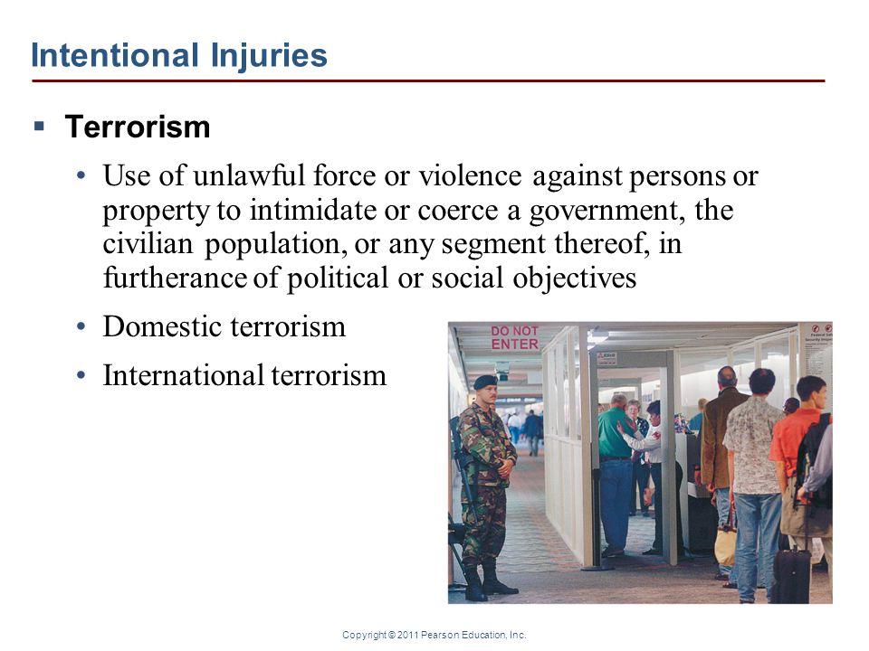 Intentional Injuries Terrorism