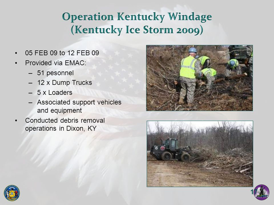 Operation Kentucky Windage (Kentucky Ice Storm 2009)