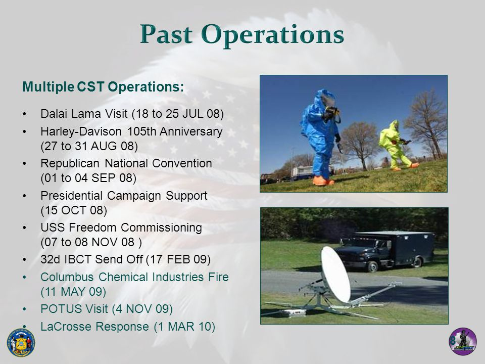 Past Operations Multiple CST Operations: