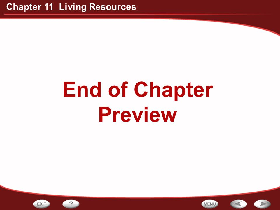 End of Chapter Preview