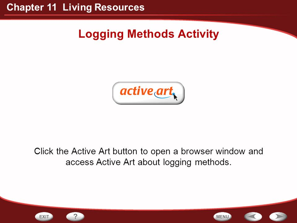 Logging Methods Activity