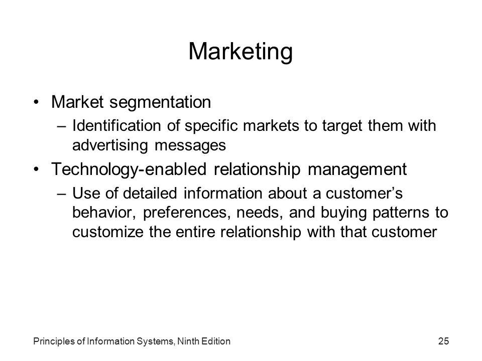 Marketing Market segmentation