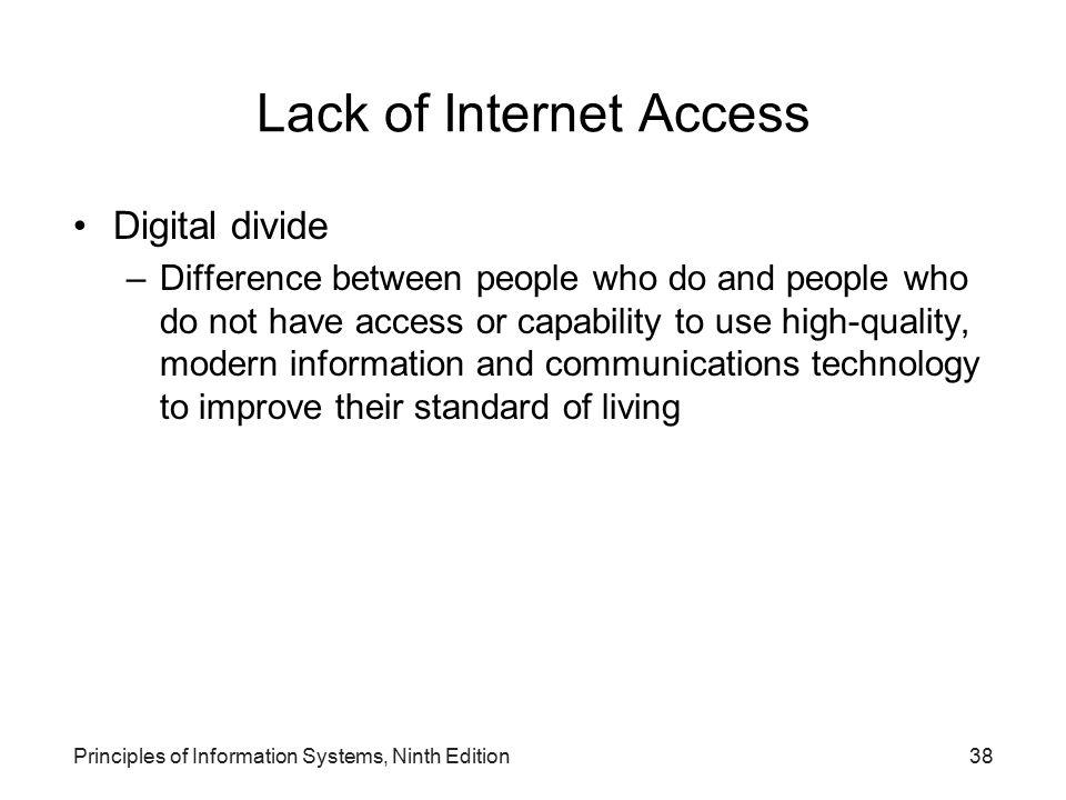 Lack of Internet Access