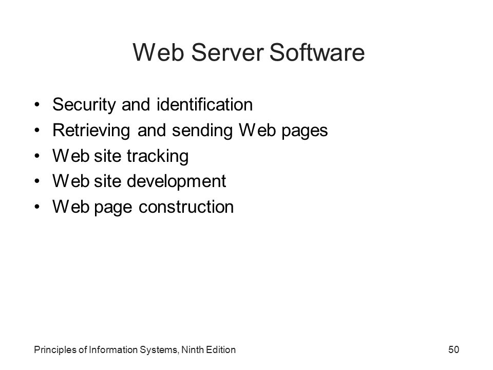 Security and identification Retrieving and sending Web pages