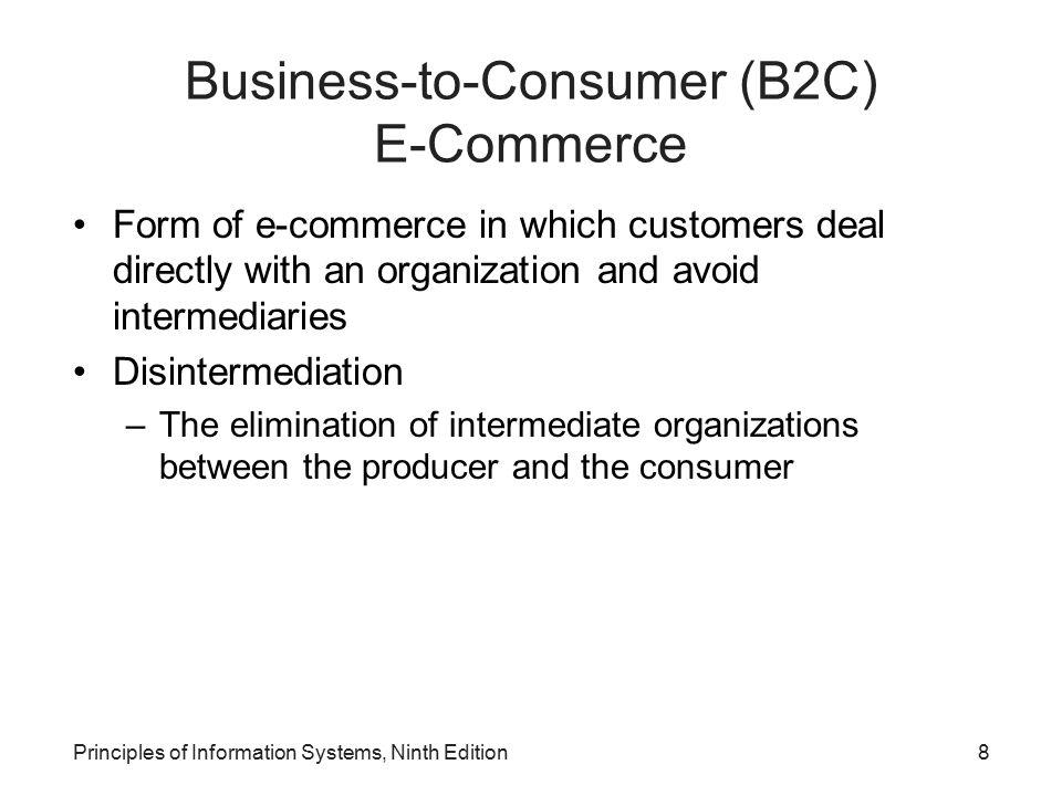 Business-to-Consumer (B2C) E-Commerce