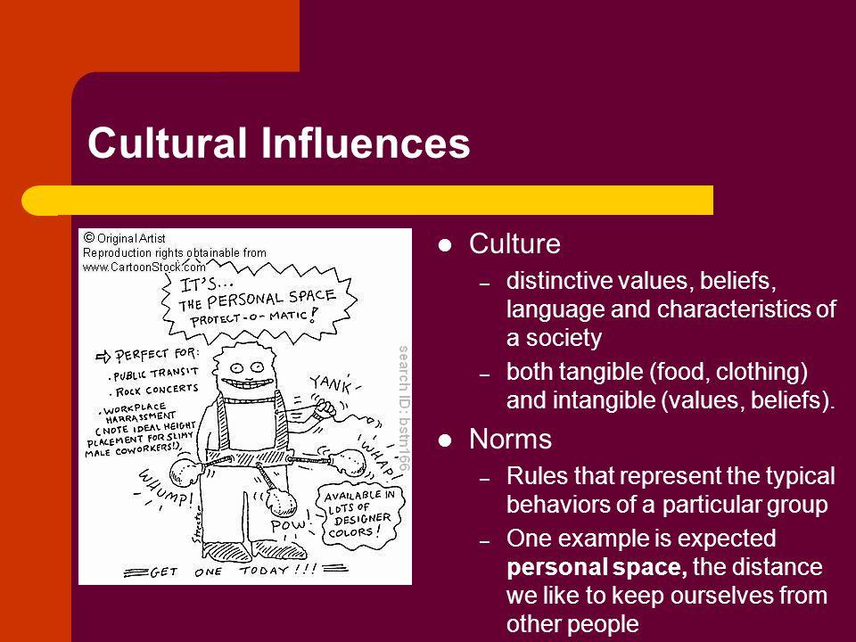 Cultural Influences Culture Norms