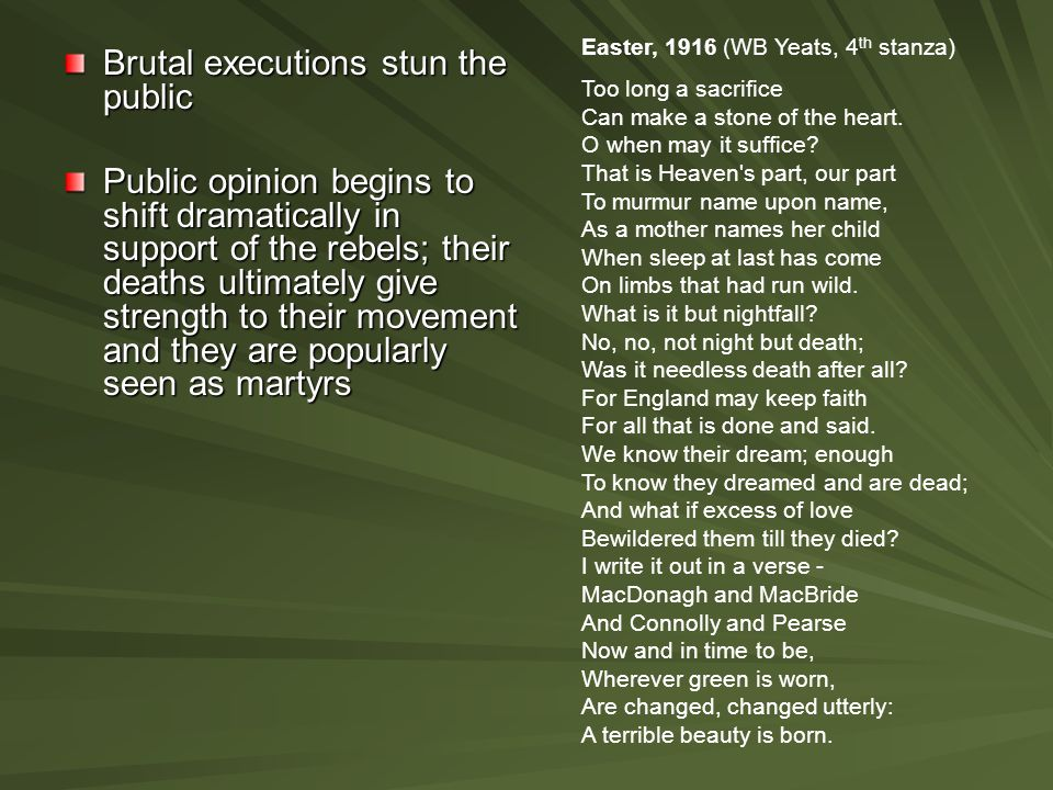 Brutal executions stun the public