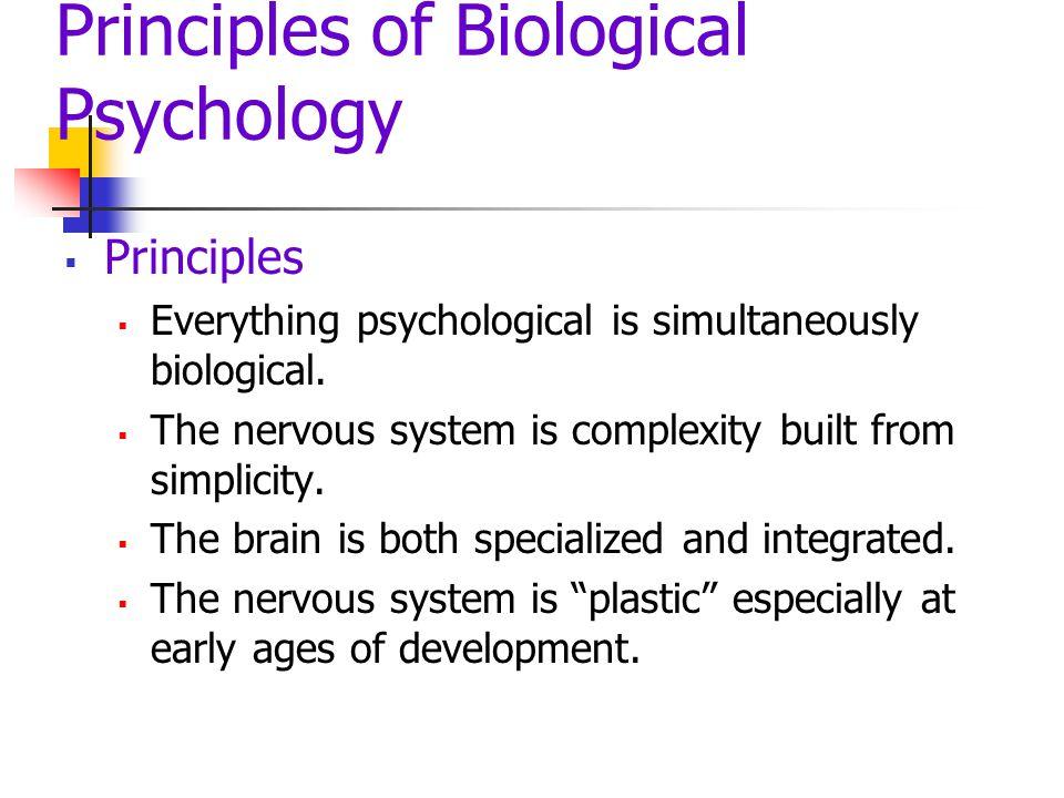 Principles of Biological Psychology