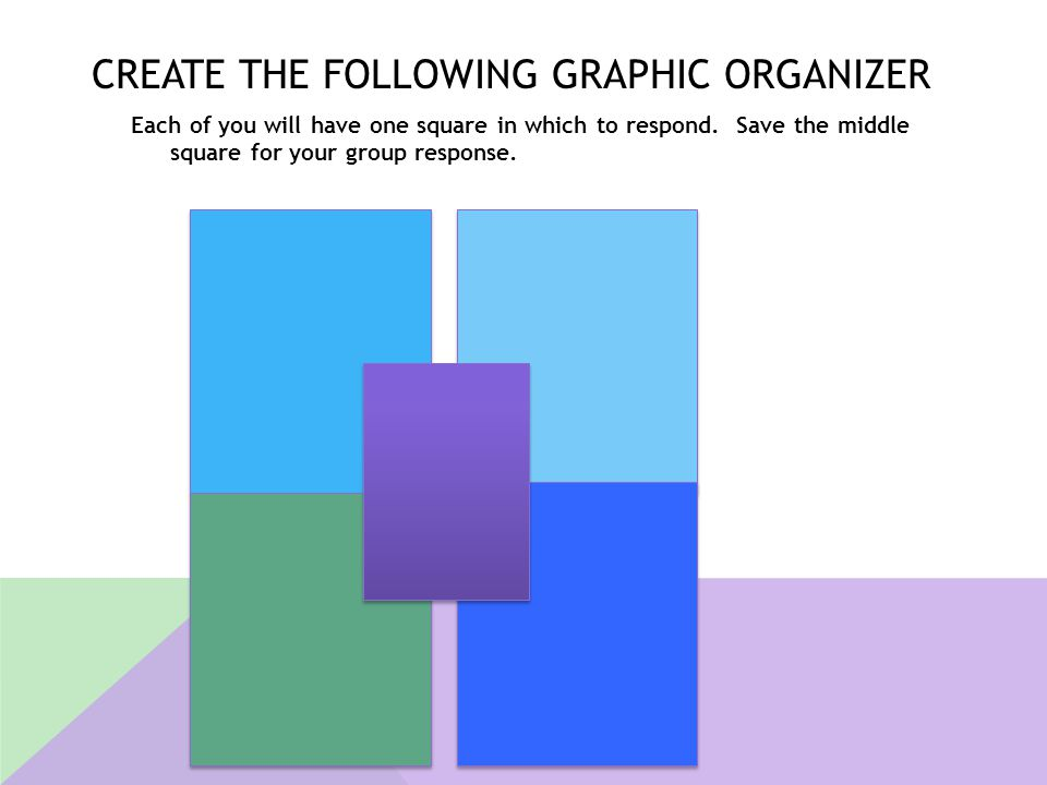 Create the following Graphic Organizer