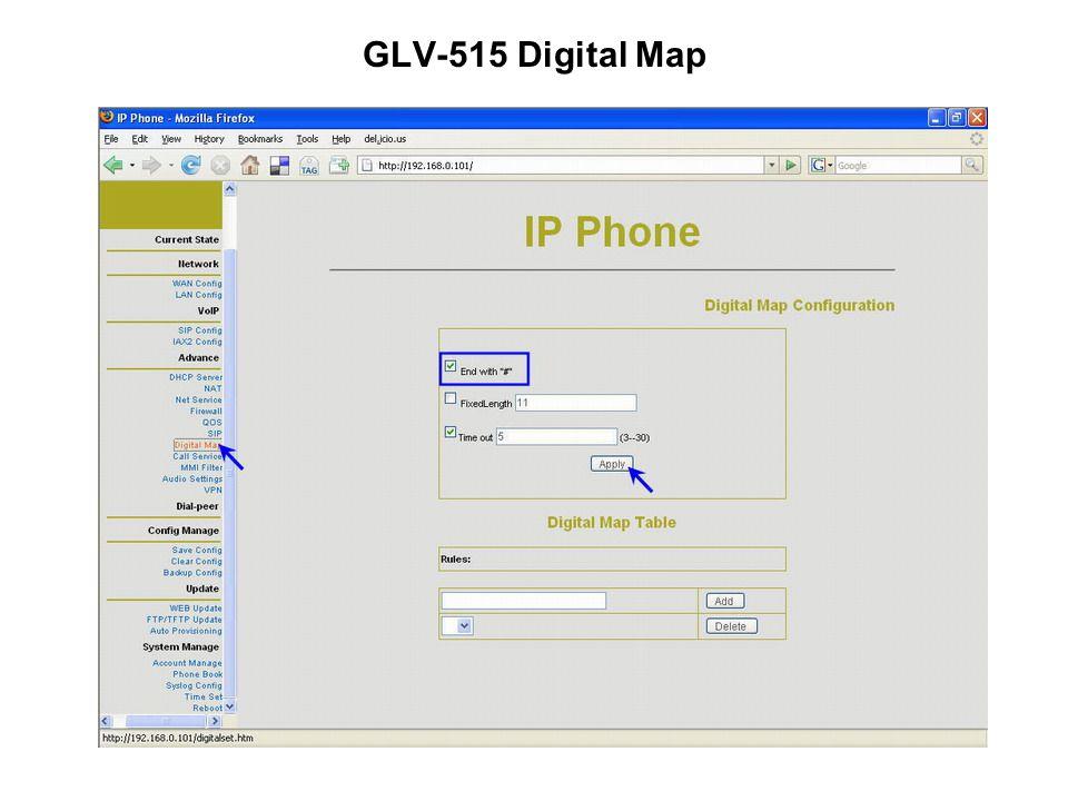 GLV-515 Digital Map