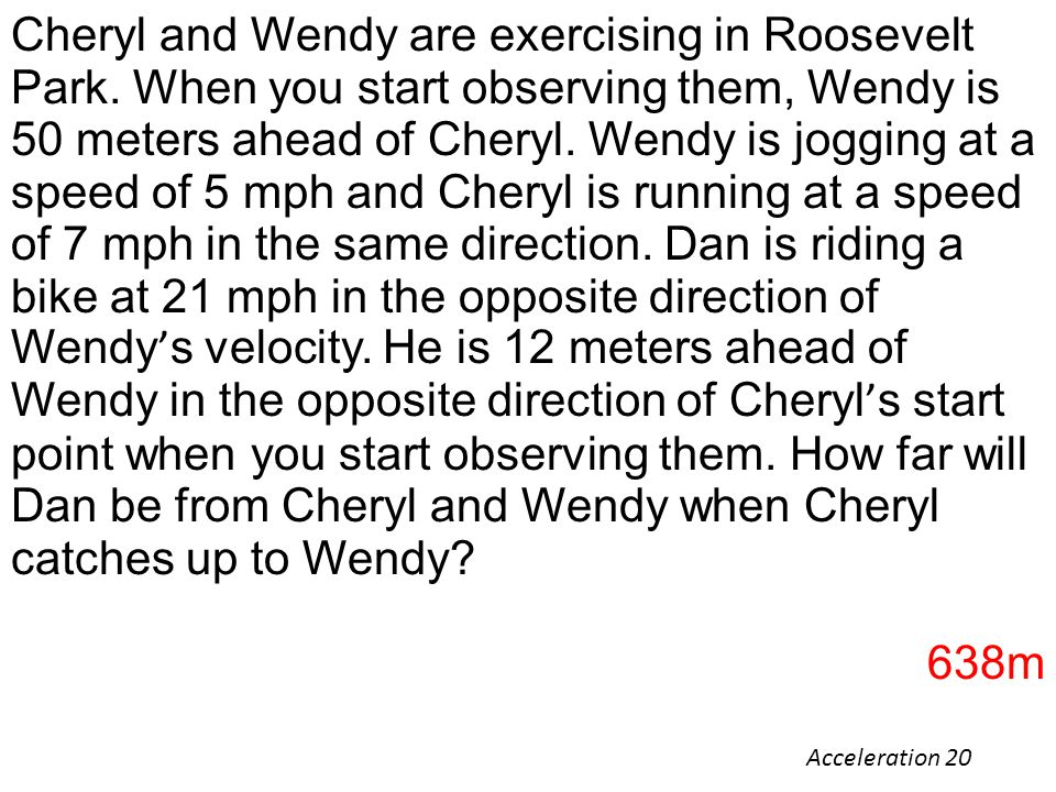 Cheryl and Wendy are exercising in Roosevelt Park