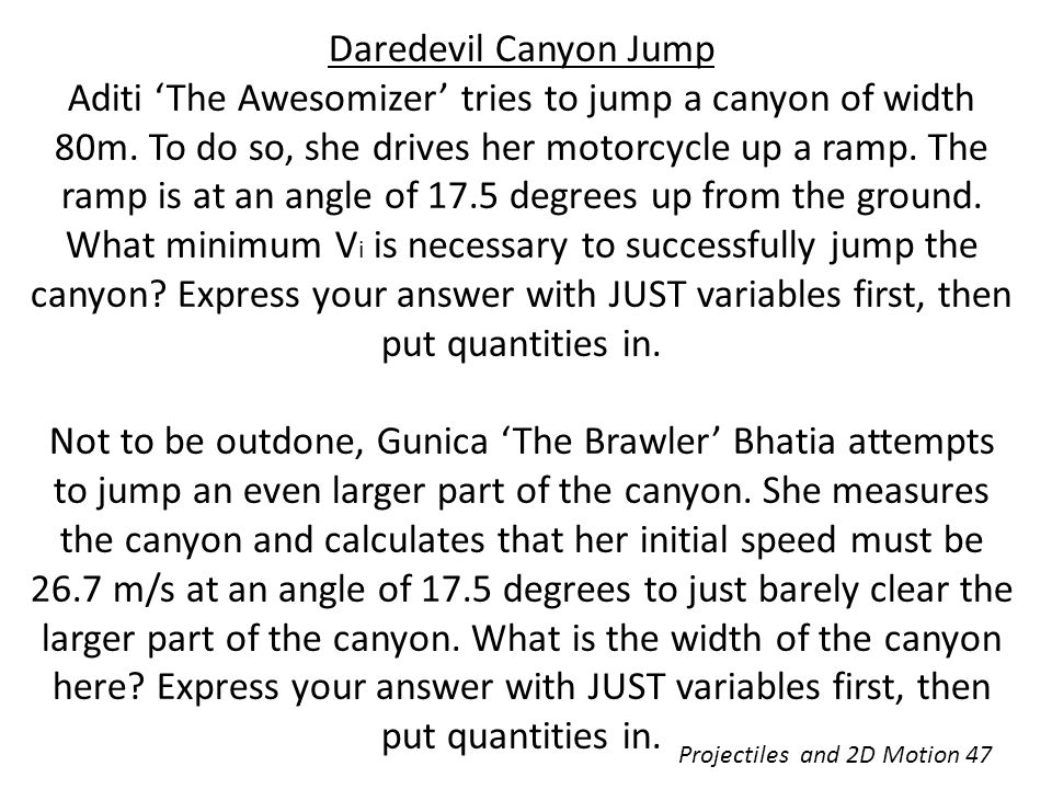 Daredevil Canyon Jump