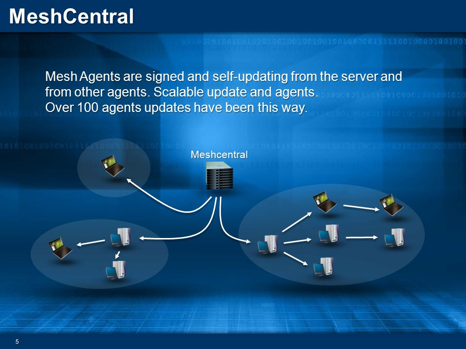 Over 100 agents updates have been this way.