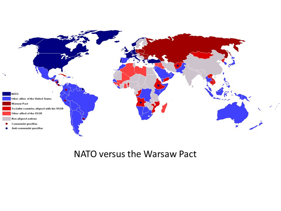 NATO versus the Warsaw Pact