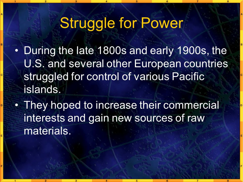 Struggle for Power