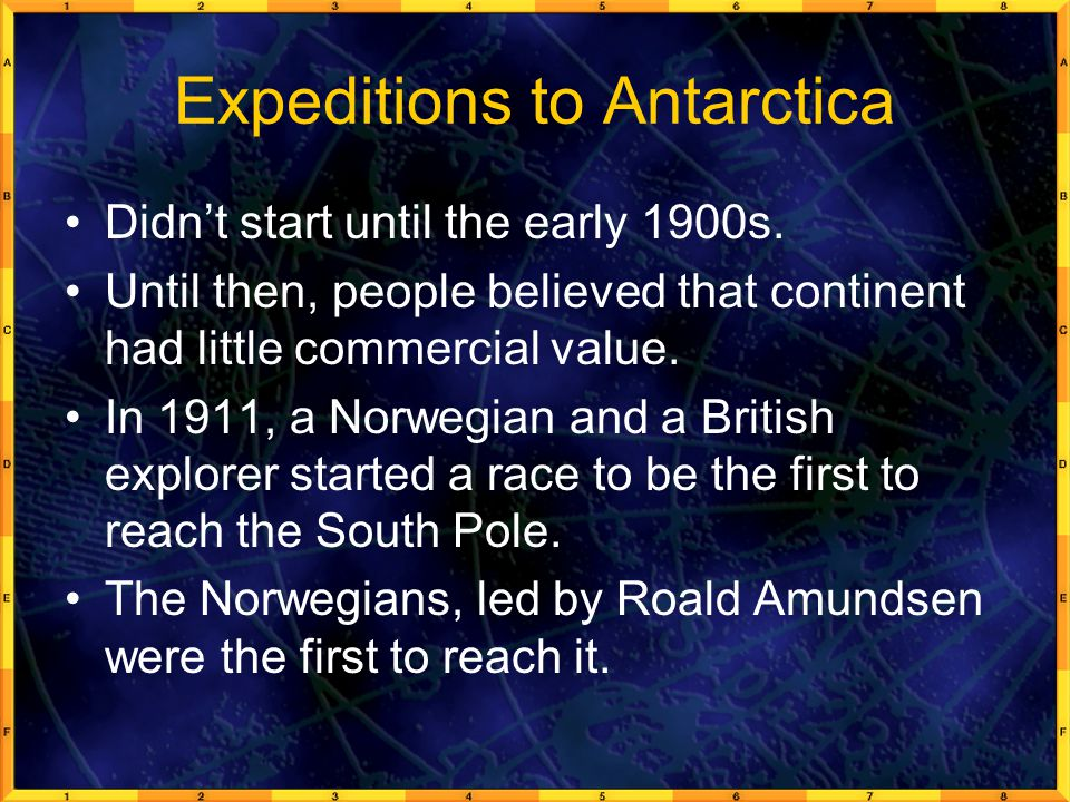 Expeditions to Antarctica