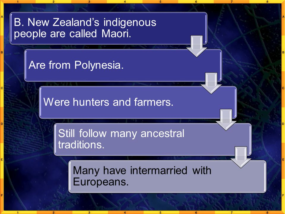 B. New Zealand's indigenous people are called Maori.