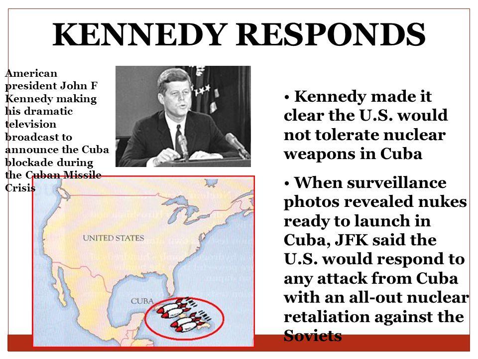 KENNEDY RESPONDS