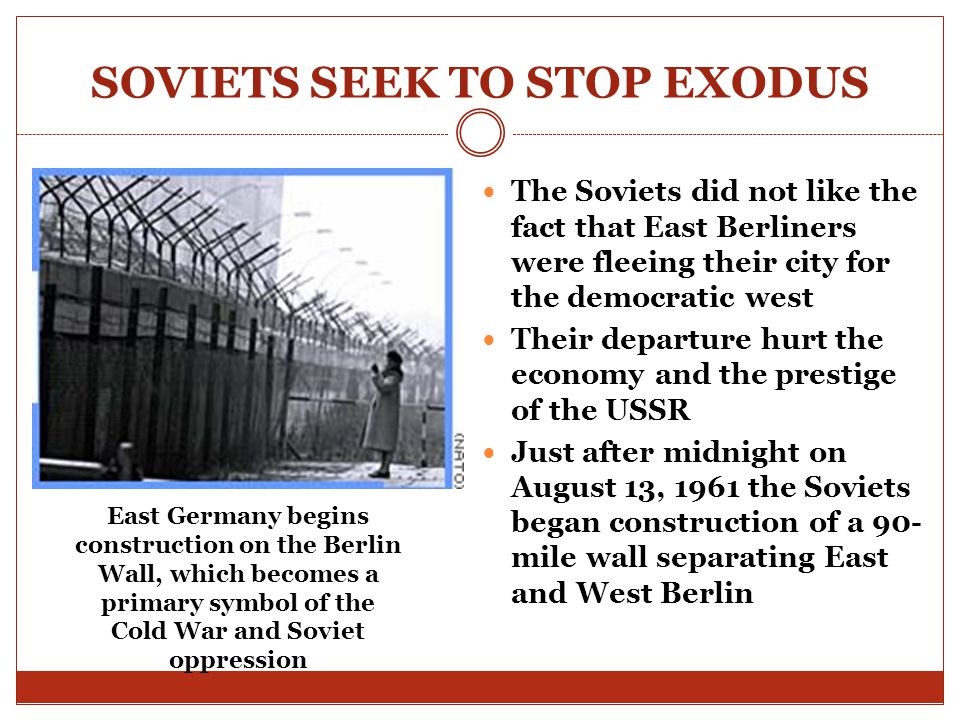 SOVIETS SEEK TO STOP EXODUS