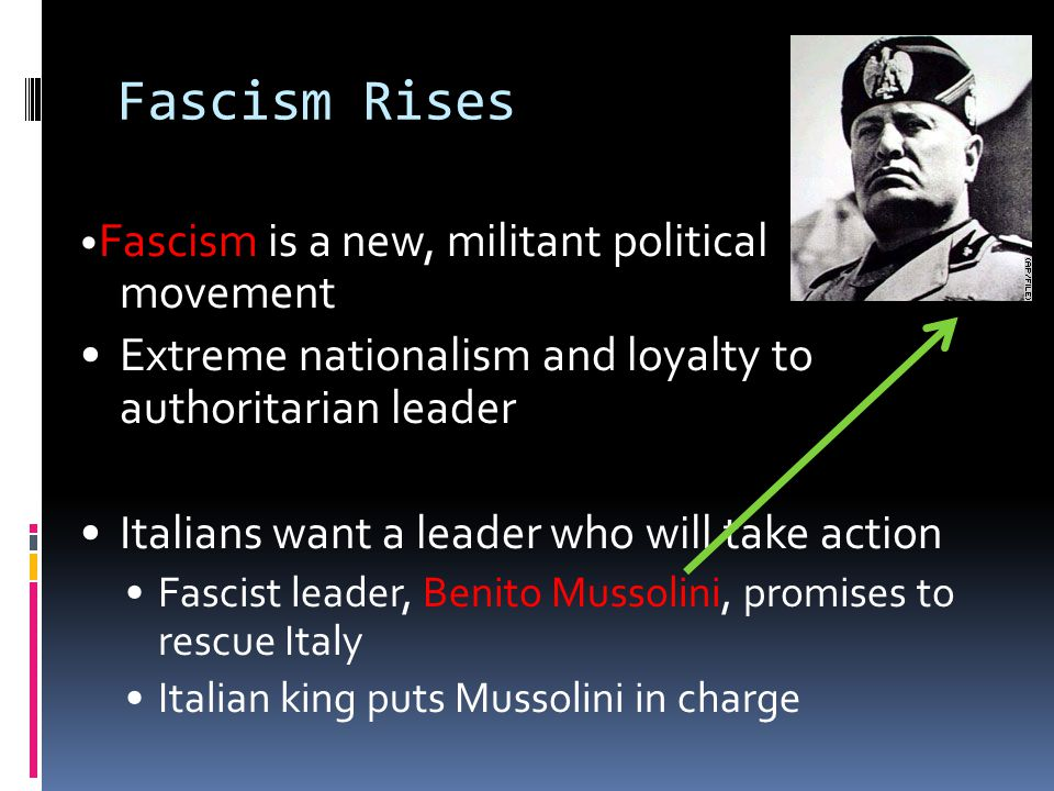 an essay on the italian leader mussolinis seizure of power Italian fascists invented the term 'totalitarian' for fascist italy,  rather he ruled  as an authoritarian leader in a state that some  after mussolini's elevation to  power, fascism began its development  various organizations used the term  before mussolini seized power  [return to main war essay page.