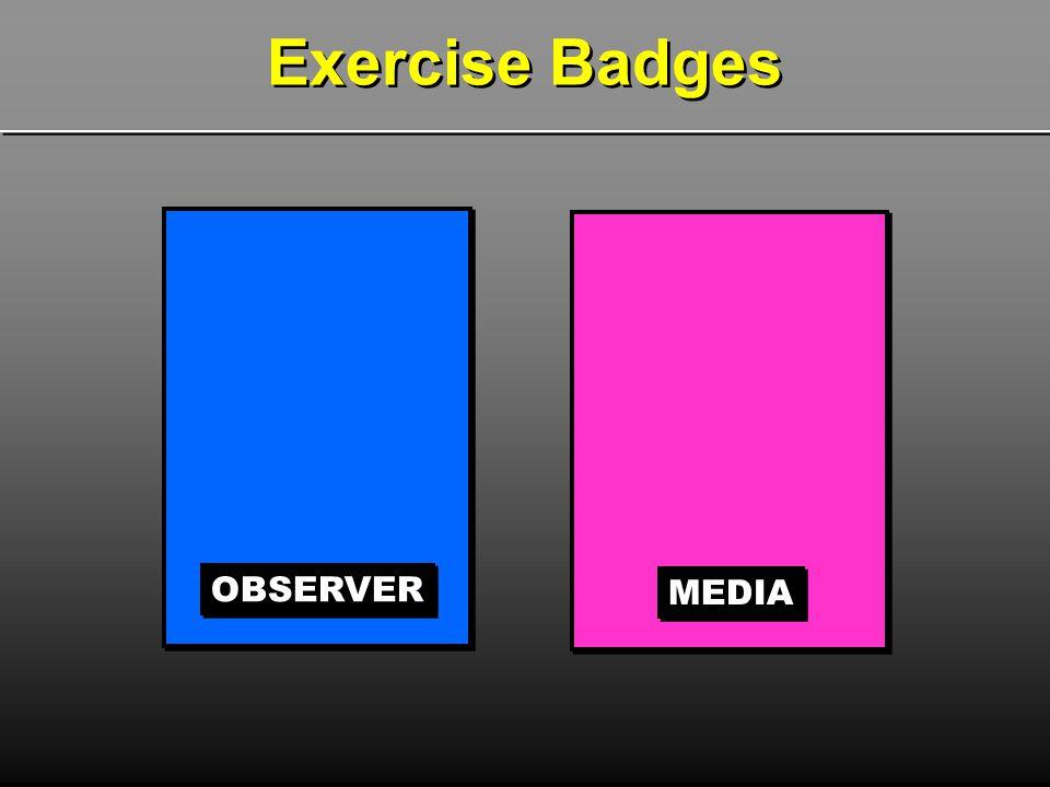 Exercise Badges OBSERVER MEDIA
