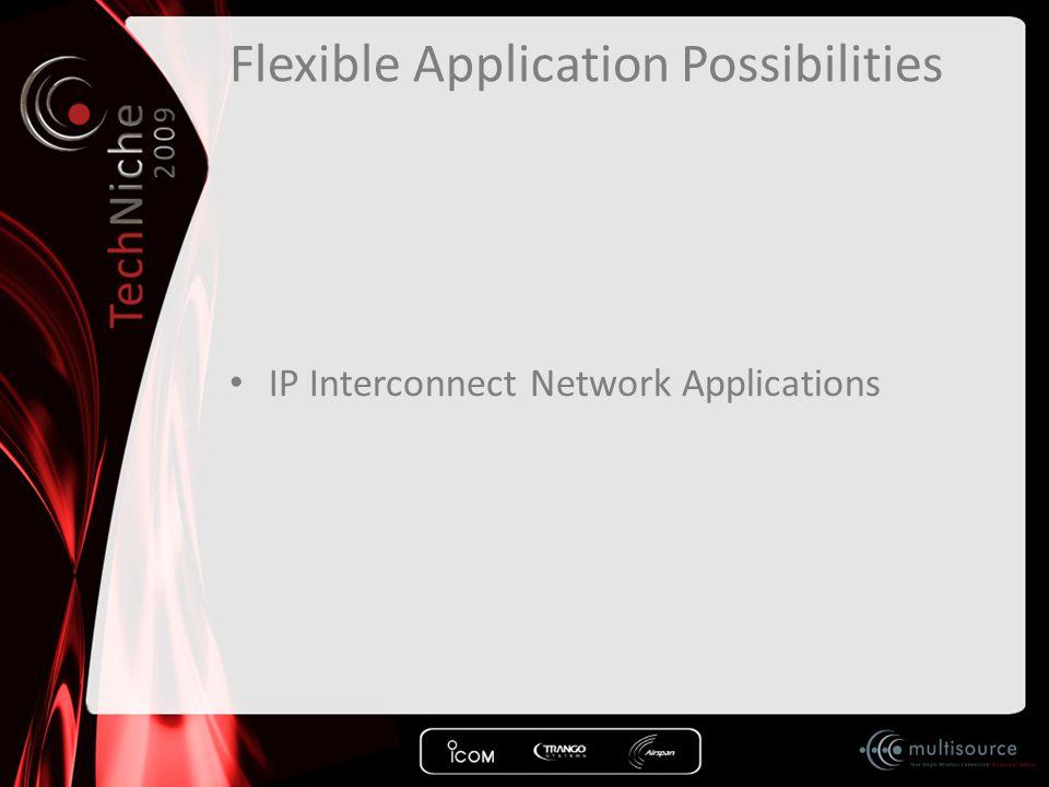 Flexible Application Possibilities