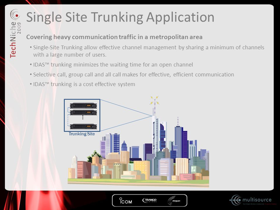 Single Site Trunking Application