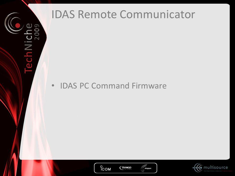 IDAS Remote Communicator
