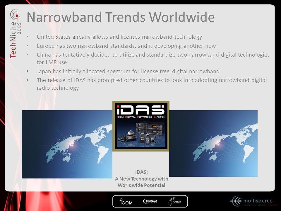 Narrowband Trends Worldwide