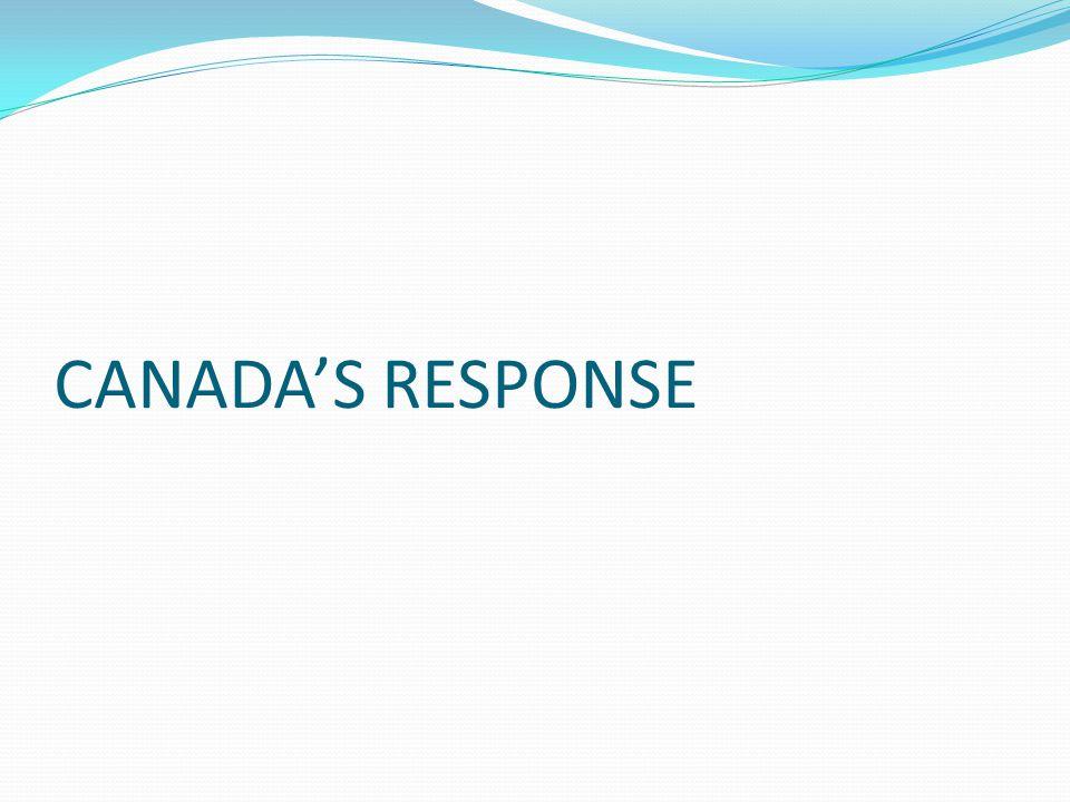 CANADA'S RESPONSE