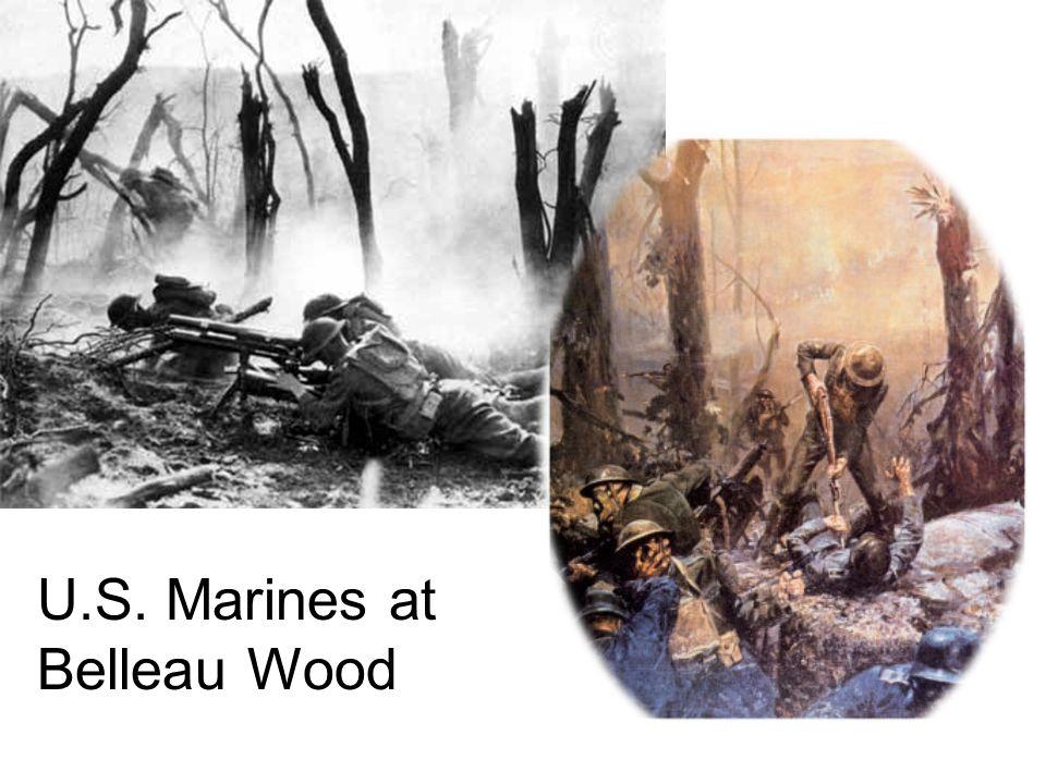 U.S. Marines at Belleau Wood