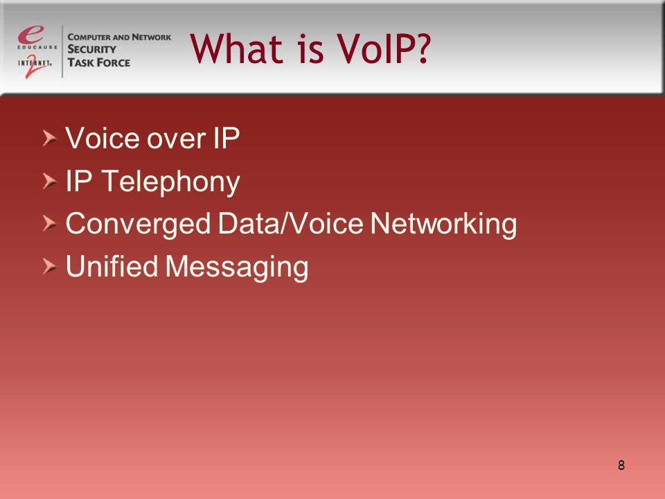 What is VoIP Voice over IP IP Telephony
