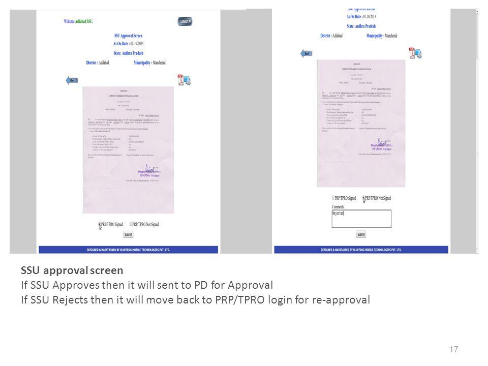 09/20/13 09/20/13 17 SSU approval screen