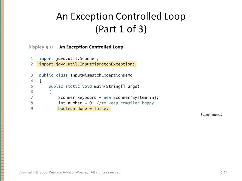 An Exception Controlled Loop (Part 1 of 3)