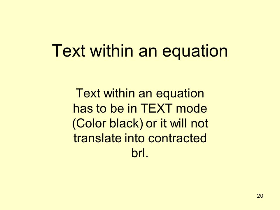 Text within an equation