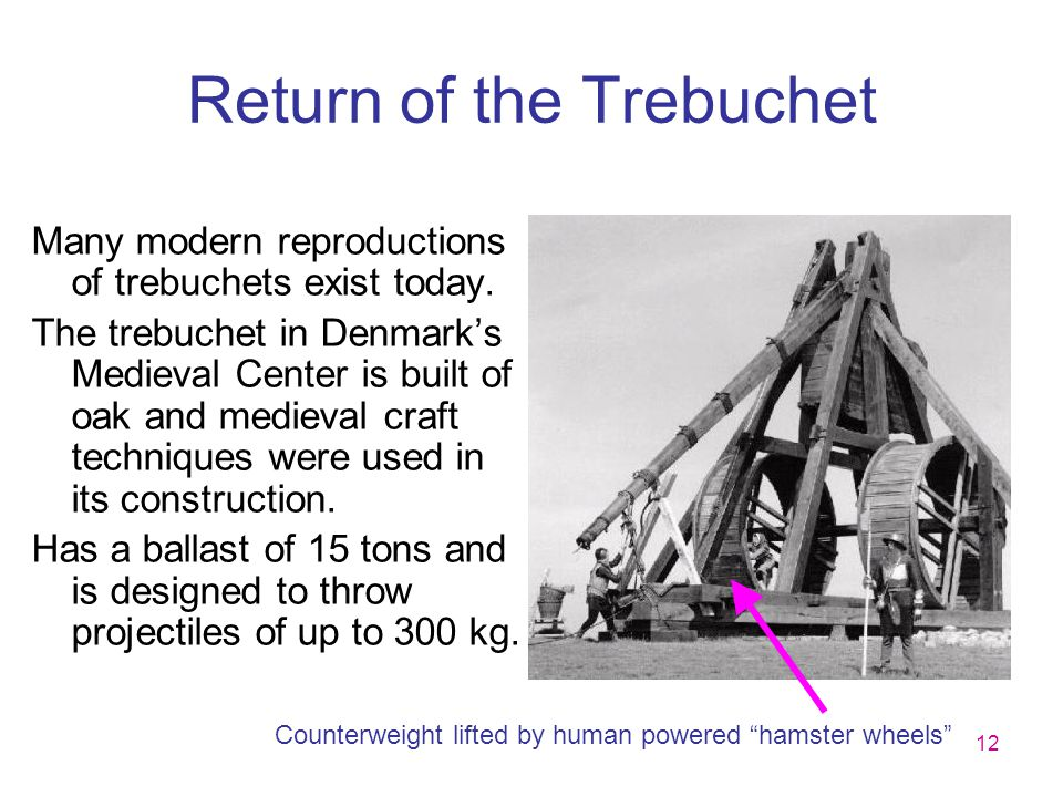 Return of the Trebuchet