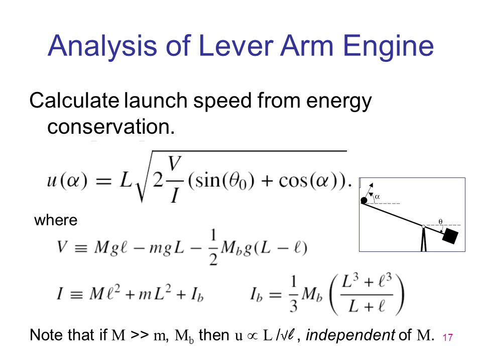 Analysis of Lever Arm Engine