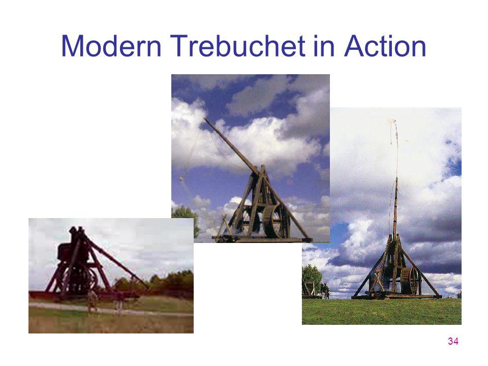 Modern Trebuchet in Action
