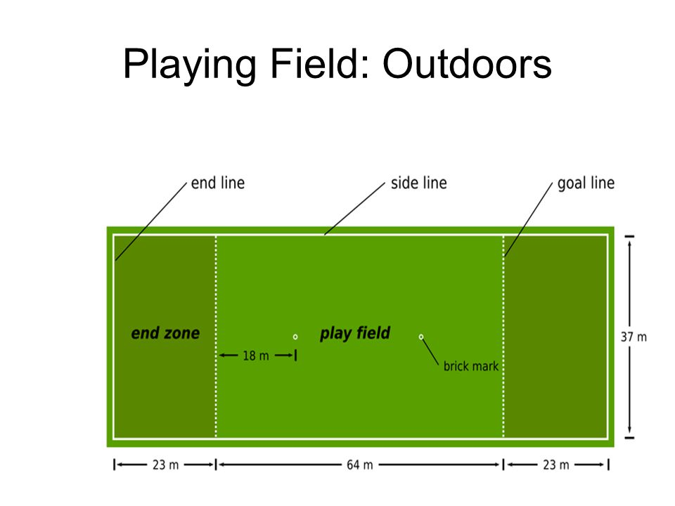 Playing Field: Outdoors