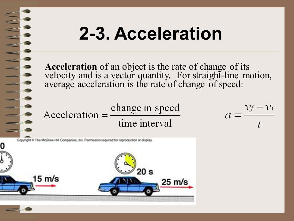 2-3. Acceleration