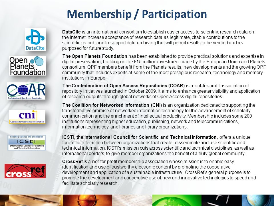 Membership / Participation