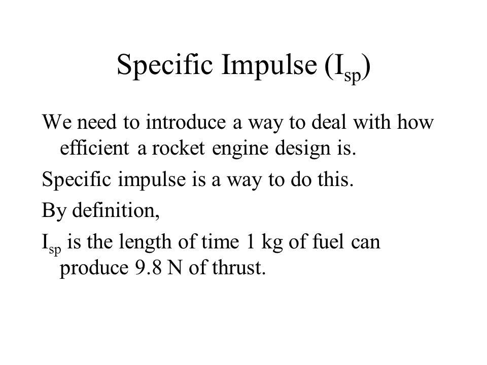 Specific Impulse (Isp)