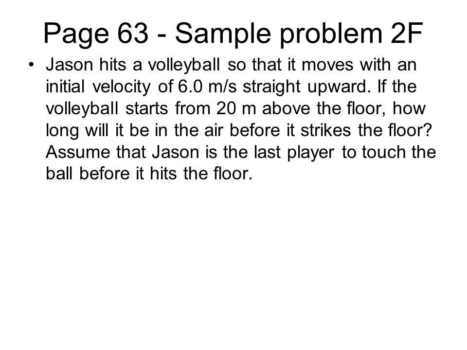 Page 63 - Sample problem 2F